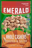 Emerald Whole Cashews Roasted & Salted - 5oz product image