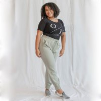 OLIVE SOUP PANT GREEN XS/S/M/L *PLEASE SPECIFY SIZE IN NOTES* product image