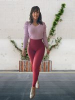OLIVER TOP LAVENDER S/M/L *PLEASE SPECIFY SIZE IN NOTES* product image