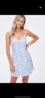 SUMMER MOON DRESS BLUE S/M/L *PLEASE SPECIFY SIZE IN NOTES* product image