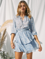EMMA SUNDRESS BLUE S/M/L *PLEASE SPECIFY SIZE IN NOTES* product image