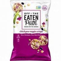 Off The Eaten Path Chickpea Veggie Crisps - 6.25oz product image