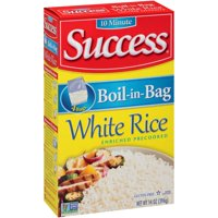 Success Boil-In-Bag Rice White Enriched Long Grain 3.5oz EA 4CT product image