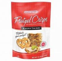 Pretzel Crisps Everything Flavored Pretzel Crackers - 7.2oz product image
