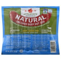 Applegate Naturals Grassfed Uncured Beef Hotdogs product image
