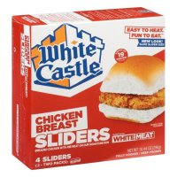 White Castle Chicken Breast Sliders product image