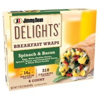 Jimmy Dean Delights Breakfast Wrap Spinach and Bacon product image