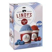 Lindys Italian Ice, Blue Raspberry & Cherry product image
