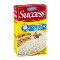 Success Boil-In-Bag Rice White Enriched Long Grain 3.5oz EA 6CT product image