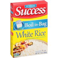 Success Boil-In-Bag Rice White Enriched Long Grain 3.5oz EA 2CT product image