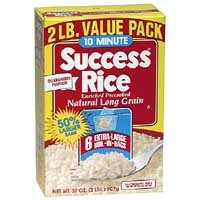 Success Boil-In-Bag Rice White Enriched Long Grain 5.3oz EA 6CT product image