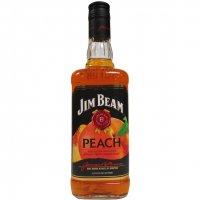 Jim Beam Peach Bourbon Whiskey 750ml product image