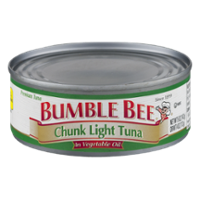 Bumble Bee Tuna Chunk Light in Oil 5oz Can product image