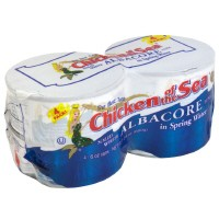 Chicken of the Sea Tuna Solid White in Water 4PK of 5oz Cans product image