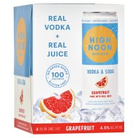 High Noon Grapefruit Vodka Hard Seltzer 4pk 355ml Cans product image
