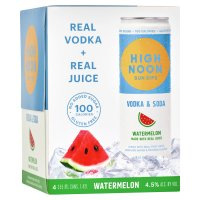 High Noon Watermelon Vodka Hard Seltzer 4pk 355ml Cans product image