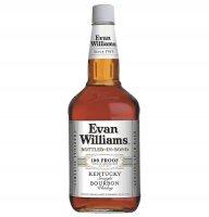 Evan Williams White Label Bottled In Bond Kentucky Bourbon Whiskey 1.75L product image