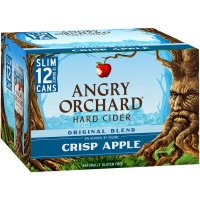 Angry Orchard Crisp Apple Hard Cider 12 Pack Cans product image