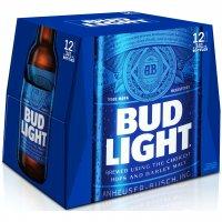 Bud Light 12 Pack 12oz Bottles product image