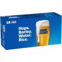 Bud Light 18 Pack 12oz Cans product image