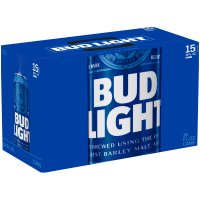 Bud Light 15 Pack 16oz Cans product image