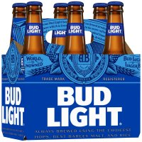 Bud Light 6 Pack 12oz Bottles product image
