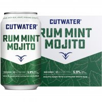 Cutwater Rum Mint Mojito 4 Pack 12oz Cans product image