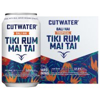 Cutwater Tiki Rum Mai Tai 4 Pack 12oz Cans product image