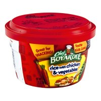 Chef Boyardee Microwave Rice Chicken & Vegetables 7.25oz Cup product image