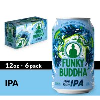 Funky Buddha Hop Gun IPA 6 Pack 12 oz Cans product image