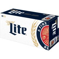 Miller Lite 18 Pack 12oz Cans product image