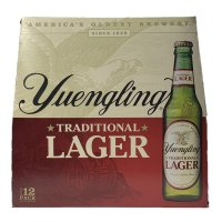 Yuengling Traditional Lager 12 pack 12oz Bottles product image