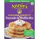 Annie's Birthday Confetti Pancake & Waffle Mix, Certified Organic product image