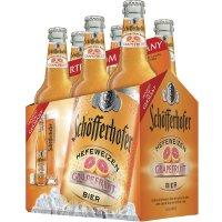 Schofferhofer Hefeweizen Grapefruit 6 Pack Bottles product image