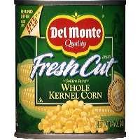 Del Monte Fresh Cut Sweet Corn Whole Kernel 8.75oz. Can product image