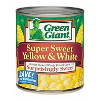 Green Giant Super Sweet Yellow & White Corn 11oz Can product image