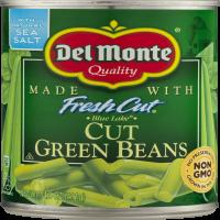 Del Monte Green Beans Cut 14.5oz Can product image