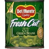 Del Monte Fresh Cut Green Beans Cut 8oz Can product image