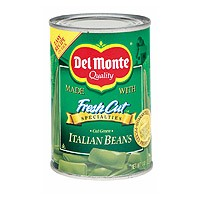 Del Monte Fresh Cut Green Beans Italian 14.5oz Can product image