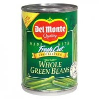 Del Monte Fresh Cut Whole Green Beans 14.5oz Can product image