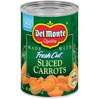 Del Monte Fresh Cut Carrots Sliced 14.5oz Can product image