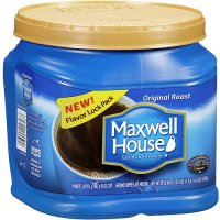 Maxwell House Ground Coffee Original Roast Medium 30.6oz Can product image