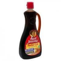Aunt Jemima Syrup Butter Lite 24oz BTL product image
