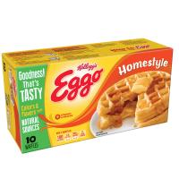 Eggo Waffles Homestyle 10CT 12.3oz Box product image