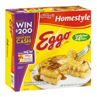 Eggo Waffles Homestyle 24CT 29.6oz. Box product image