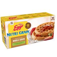 Eggo Waffles Nutri-Grain Whole Wheat 10CT 12.3oz Box product image
