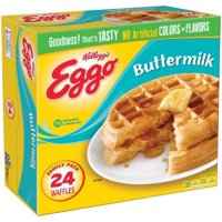 Eggo Waffles Buttermilk 24CT 29.6oz Box product image