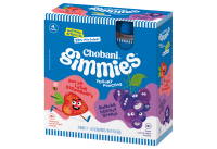 Chobani Gimmies Yogurt Strawberry/Grape 4CT 3.5oz Pouches product image