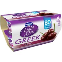 Dannon Light & Fit Greek Nonfat Yogurt Cherry 5.3oz EA 4PK product image