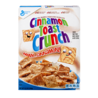 General Mills Cinnamon Toast Crunch Cereal 12oz Box product image